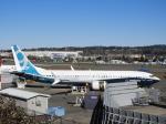 SKY☆MOTOさんが、レントン市営空港で撮影したボーイング 737-9-MAXの航空フォト(写真)