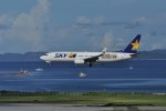 kumagorouさんが、那覇空港で撮影したスカイマーク 737-8Q8の航空フォト(飛行機 写真・画像)