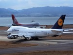PW4090さんが、関西国際空港で撮影したルフトハンザドイツ航空 747-430の航空フォト(写真)