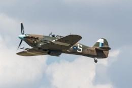 shingenさんが、フェアフォード空軍基地で撮影したイギリス空軍 Hurricane Mk2Cの航空フォト(飛行機 写真・画像)