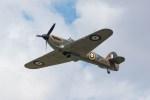 shingenさんが、フェアフォード空軍基地で撮影したイギリス空軍 Hurricane Mk2Cの航空フォト(写真)