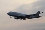 さとちんさんが、成田国際空港で撮影したアトラス航空 747-481の航空フォト(写真)