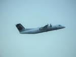 SKY☆MOTOさんが、バンクーバー国際空港で撮影したエア・カナダ ジャズ DHC-8-301 Dash 8の航空フォト(写真)