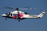 MOR1(新アカウント)さんが、名古屋飛行場で撮影した日本法人所有 AW139の航空フォト(写真)