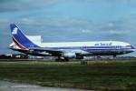 tassさんが、ロンドン・ガトウィック空港で撮影したエア・トランザット L-1011-385-1-14 TriStar 100の航空フォト(飛行機 写真・画像)
