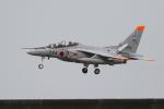 おふろうどさんが、築城基地で撮影した航空自衛隊 T-4の航空フォト(写真)