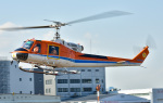 Soraya_Projectさんが、東京ヘリポートで撮影した新日本ヘリコプター 204B-2(FujiBell)の航空フォト(写真)