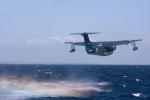 元青森人さんが、相模湾で撮影した海上自衛隊 US-2の航空フォト(写真)