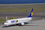 yabyanさんが、中部国際空港で撮影したスカイマーク 737-8HXの航空フォト(写真)