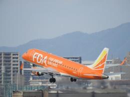 SKY☆MOTOさんが、名古屋飛行場で撮影したフジドリームエアラインズ ERJ-170-200 (ERJ-175STD)の航空フォト(飛行機 写真・画像)