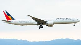 pinama9873さんが、関西国際空港で撮影したフィリピン航空 777-3F6/ERの航空フォト(写真)
