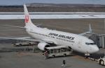 東亜国内航空さんが、釧路空港で撮影した日本航空 737-846の航空フォト(写真)