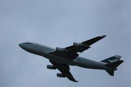 meijeanさんが、関西国際空港で撮影したキャセイパシフィック航空 747-412(BCF)の航空フォト(飛行機 写真・画像)
