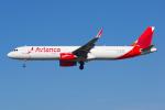 PASSENGERさんが、ロサンゼルス国際空港で撮影したアビアンカ航空 A321-231の航空フォト(写真)
