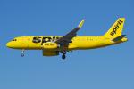 PASSENGERさんが、ロサンゼルス国際空港で撮影したスピリット航空 A320-232の航空フォト(写真)
