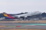 mojioさんが、成田国際空港で撮影したアシアナ航空 747-446F/SCDの航空フォト(飛行機 写真・画像)