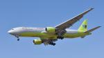 パンダさんが、成田国際空港で撮影したジンエアー 777-2B5/ERの航空フォト(写真)