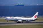 yabyanさんが、中部国際空港で撮影した中国国際航空 737-808の航空フォト(飛行機 写真・画像)