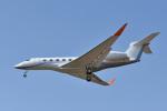 パンダさんが、成田国際空港で撮影したTVPX AIRCRAFT SOLUTIONS INC TRUSTEE G650 (G-VI)の航空フォト(写真)