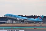 mojioさんが、成田国際空港で撮影した大韓航空 747-8B5の航空フォト(飛行機 写真・画像)