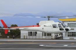 eokiiiiさんが、群馬ヘリポートで撮影した野崎産業 AS350B Ecureuilの航空フォト(飛行機 写真・画像)