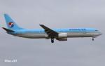 RINA-281さんが、小松空港で撮影した大韓航空 737-9B5の航空フォト(写真)