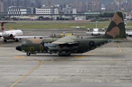 simokさんが、台北松山空港で撮影した中華民国空軍 C-130 Herculesの航空フォト(写真)