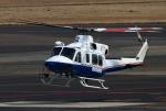 なごやんさんが、名古屋飛行場で撮影したティー・エム・シー・インターナショナル 412EPの航空フォト(写真)