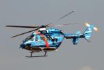 なごやんさんが、名古屋飛行場で撮影した秋田県警察 BK117C-1の航空フォト(写真)