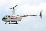 なごやんさんが、名古屋飛行場で撮影したちくぎんリース R66 Turbineの航空フォト(写真)