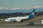 みそらさんが、シアトル タコマ国際空港で撮影したアラスカ航空 737-790の航空フォト(飛行機 写真・画像)