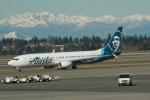 みそらさんが、シアトル タコマ国際空港で撮影したアラスカ航空 737-990/ERの航空フォト(写真)