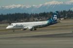 みそらさんが、シアトル タコマ国際空港で撮影したホライゾン航空 ERJ-170-200 LR (ERJ-175LR)の航空フォト(写真)