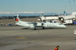 みそらさんが、シアトル タコマ国際空港で撮影したジャズ・エア DHC-8-402Q Dash 8の航空フォト(写真)