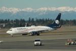 みそらさんが、シアトル タコマ国際空港で撮影したアエロメヒコ航空 737-852の航空フォト(写真)