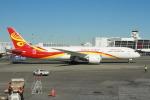 みそらさんが、シアトル タコマ国際空港で撮影した海南(ハイナン)航空 787-9の航空フォト(写真)