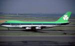 BOSTONさんが、ジェネラル・エドワード・ローレンス・ローガン国際空港で撮影したエア・リンガス 747-148の航空フォト(写真)