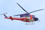アイトムさんが、岐阜基地で撮影した岐阜県防災航空隊 412EPの航空フォト(飛行機 写真・画像)