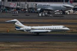 airportfireengineさんが、羽田空港で撮影したベルジャヤ・エア BD-700-1A11 Global 5000の航空フォト(飛行機 写真・画像)