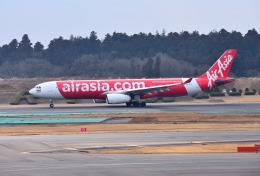 mojioさんが、成田国際空港で撮影したタイ・エアアジア・エックス A330-343Xの航空フォト(写真)