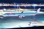 FRTさんが、羽田空港で撮影したカタール航空 A350-1041の航空フォト(飛行機 写真・画像)