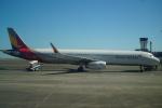 FRTさんが、宮崎空港で撮影したアシアナ航空 A321-231の航空フォト(飛行機 写真・画像)