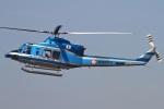 MOR1(新アカウント)さんが、名古屋飛行場で撮影した愛知県警察 412EPの航空フォト(写真)