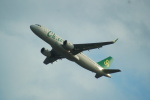 FRTさんが、関西国際空港で撮影した春秋航空 A320-214の航空フォト(飛行機 写真・画像)