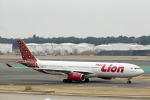demodori6さんが、成田国際空港で撮影したタイ・ライオン・エア A330-343Xの航空フォト(飛行機 写真・画像)