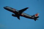 FRTさんが、関西国際空港で撮影したジェットスター・アジア A320-232の航空フォト(飛行機 写真・画像)