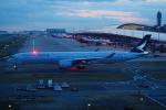 FRTさんが、関西国際空港で撮影したキャセイパシフィック航空 A350-1041の航空フォト(写真)