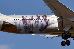 sonnyさんが、成田国際空港で撮影したエティハド航空 787-9の航空フォト(写真)