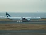 FRTさんが、中部国際空港で撮影したキャセイパシフィック航空 777-367の航空フォト(写真)