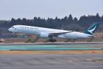 mojioさんが、成田国際空港で撮影したキャセイパシフィック航空 A350-941XWBの航空フォト(写真)